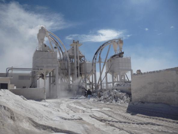 Clay mills bentonite