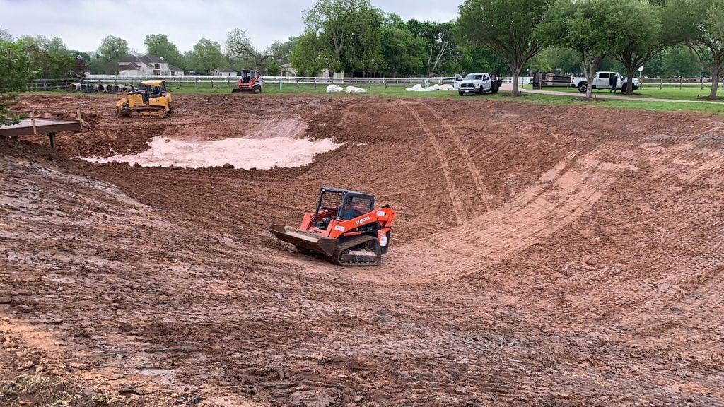 Pond Construction Texas