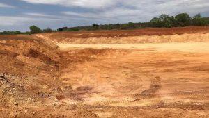 farm pond digging